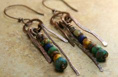 Indian Corn  Rustic Mixed Bead Stacks with by AllowingArtDesigns, $20.00