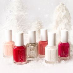It's an essie winter wonderland out there.