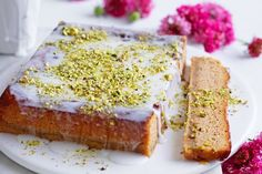 Elena Duggan is mad about rosewater, whether in a Turkish delight, or this Persian love cake. Be sure to get in quick; it will disappear before you know it!