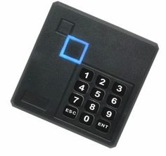 68.00$  Watch here - http://alit0f.worldwells.pw/go.php?t=32660788498 - Black Waterproof 125KHz ID Card Reader Wiegand 26 Access Control Keypad RFID Reader