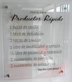 Productos Ràpido – 43 años en el negocio de la pastelerìa por una razòn Personalized Items, Art, Frases, Stall Signs, Business, Mugs, Products, Colombia, Cards