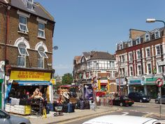Images of London. The town of Harlesden, north west London. One of the cheapest places to shop.