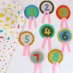 birthday rosette badges