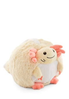 Little Plush One in Axolotl. Get cozy with this cuddly Axolotl pillow by Squishable for a charming day of reading and relaxing! The Axolotl is the mexican water Salamander Retro Bed, Cute Bedding, Cute Little Things, Modcloth, Home Gifts, Retro Vintage, Hello Kitty, Cute Animals, Plush
