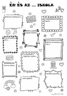 Bullet Journal Decoration, Bullet Journal Banner, Bullet Journal Art, Bullet Journal Inspiration, Planner Doodles, Punch Needle Patterns, Teaching Tips, School Projects, Preschool Activities