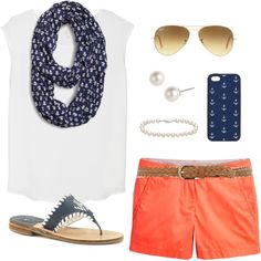 OOTD by classically-preppy on Polyvore