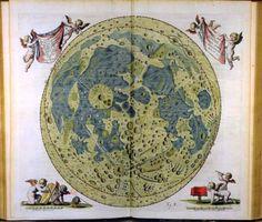 El primer mapa de la Luna