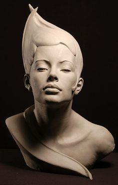 Portrait Sculptures by Philippe Faraut. Philippe Faraut is a talented sculptor. Famous Sculptures, Art Sculpture, Stone Sculptures, Wow Art, Art Moderne, Clay Art, Ceramic Art, Statues, Sculpting