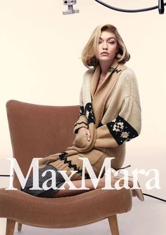 Max Mara Fall Winter 2015.16 Campaign | Gigi Hadid | Anthony Maule