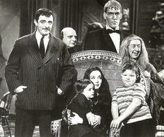 Vintage TV Show Addams Family Group Picture Fridge by Vividiom, $3.50