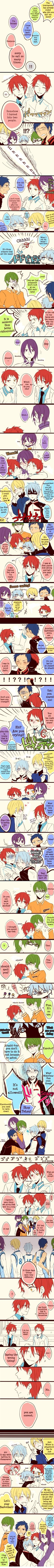 Akashi likes Murasakibaracchi but Kuroko likes Akashi. Oh, how troublesome :D I love it how they all want Akashi to pay attention to them! Even though Kuroko wants it a little too much XD