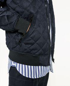 Obrázok 2 z PREŠÍVANÁ BOMBER BUNDA od spoločnosti Zara