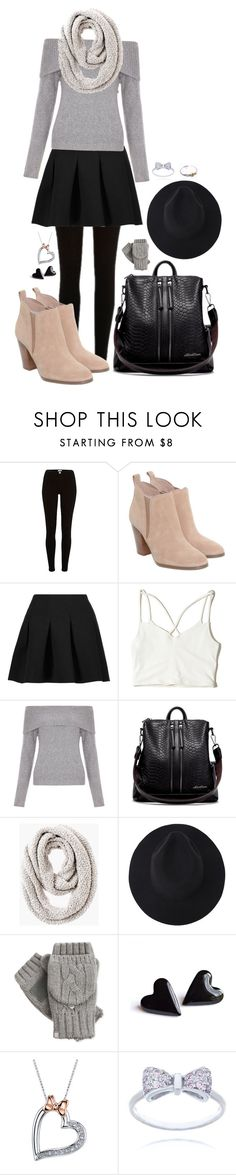 """""""Untitled #99"""" by snoconekid on Polyvore featuring Michael Kors, T By Alexander Wang, Hollister Co., New Look, Chico's, Isotoner and Disney"""
