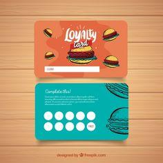id card vector freepik elegant colorful loyalty card template vector of id card vector freepik Loyalty Card Design, Loyalty Card Template, Card Templates, Loyalty Cards, Folders, Sign Board Design, Arabic Design, Business Card Design Inspiration, Graphic Design Branding