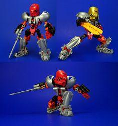 Bionicle - Tahu Revamp - Nuva by ~Lalam24 on deviantART