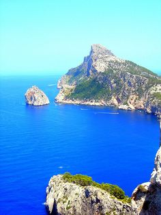 Cap de Formentor, Mallorca -- this was gorgeous to see from a boat ride along the coast