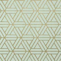 Medina Aqua and Gilver Wallpaper from Thibaut Geometric Resource Collection. A geometric wallpaper with an interlocking triangular pattern printed in aqua and gilver. Motif Art Deco, Art Deco Design, Art Deco Tiles, Art Deco Print, Art Designs, Geometric Wallpaper, Pattern Wallpaper, Art Deco Wallpaper, Medina Wallpaper