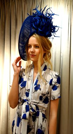 653087f12fd Suzannah Bloom print luxury siok twill tea dress