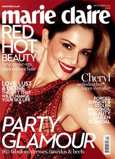 d13972df7006 Cheryl Fernandez Versini Poses for David Roemer in Marie Claire UK Shoot Uk  Magazines