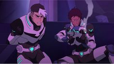Lance awoke from a coma and shot Sendak with his Bayard from Voltron Legendary Defender