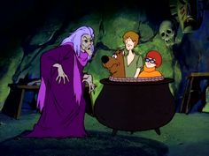 """The Scooby Doo Show, 1977, Episode 23 - """"The Ozark Witch Switch"""" - The Ghost of Witch McCoy"""