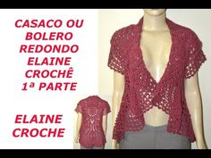 CASACO BOHO CIRCULAR EM CROCHÊ (FEAT ISA RIBEIRO - NA NOSSA VIDA) - YouTube