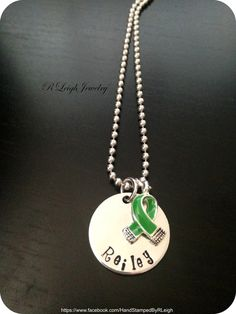 Personalized Mitochondrial Disease Awareness by RLeighJewelry, $16.50