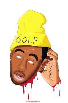 Tyler, the Creator fan art #GOLFWANG