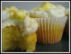 Lemon Merengue Cupcakes