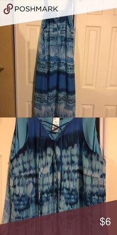 Long Beach dress Blue Long Beach dress Dresses Maxi
