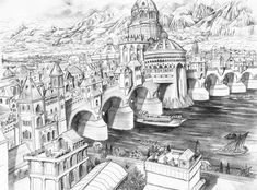 Osgiliath by AbePapakhian.deviantart.com on @deviantART
