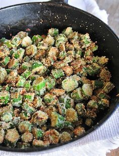 Fried Okra is a Southern staple. So simple to make, fried okra makes the perfect side dish. Get this heirloom family fried okra recipe that you'll love. This is the one way I will eat okra Side Dish Recipes, Vegetable Recipes, Dinner Recipes, Cast Iron Recipes, Cooking Recipes, Healthy Recipes, Pasta Recipes, Skillet Recipes, Cooking Tips