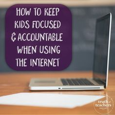 12 structures to keep kids focused when using the internet in class - One of the most common problems teachers face when integrating technology is keeping kids focused and accountable. So, let's look at some ways to be pro-active and set kids up for success.