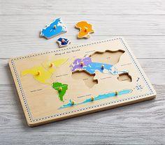 World Map Puzzle #pbkids
