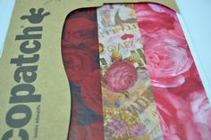 3pk Decopatch Tissue Paper- Red & Pink - Roses & Flower Print Details: 3 sheets of decoupage/paper mache/collage paper; acid free.