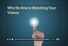 Making and uploading your videos on Youtube or any other platform is not enough because they won't add value to your business or brand if nobody's viewing them. Here are guaranteed reasons why people are not watching your videos and proven tricks to get more views on your video content.