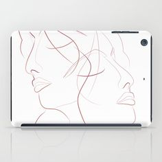 IPAD CASE IPAD MINI Authîel Minimalist by We~Ivy Presents For Friends, Good Cause, Laptop Skin, Ipod Touch, Ipad Mini, Ipad Case, Tech Accessories, Line Art, Ivy