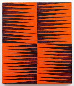 TODD CHILTON: Orange Triangles, 2012