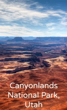 When you're traveling around Moab, Utah, Canyonlands National Park and Dead Horse Point State Park make for a great day trip. Be sure to bring your camera!