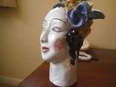 Wiener Werkstatte Art Deco Figurine 1930 Vally Wieselthier Pottery Head