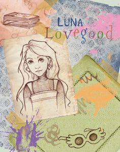 Luna Lovegood by Ninidu on @DeviantArt