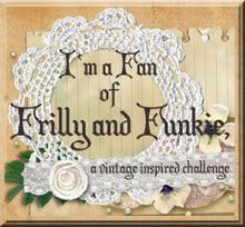 Frilly and Funkie: Saturday StepxStep: Distress Ink Enameled Rust  from a tim Holtz blog link list