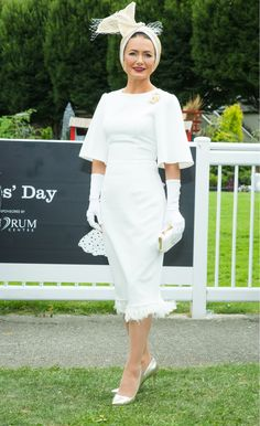 882c3b6eb33 Best dressed lady at Dublin Horse show 2018