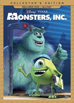 Monsters, Inc. (Three-Disc Collector's Edition: Blu-ray/DVD Combo in DVD Packaging)