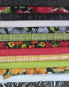 Breezy Fat Quarter Bundle Fabric  P and B by QuiltsFabricandmore,