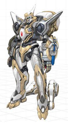Lancelot (Code Geass) design by Akiman