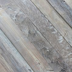 Love this for wainscoting / wall paneling in a beach house or beachy cafe - Reclaimed WEATHERED TEAK PLANK PANELING TINTED