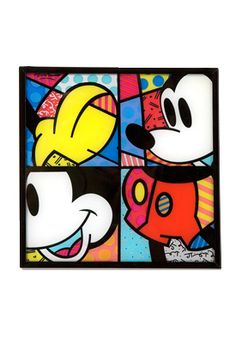 MICKEY MOUSE WINDOW PANEL (HANGING) by Britto