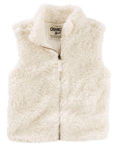 Image result for boys sherpa vest