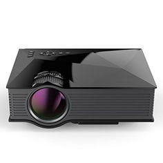 FastFox Mini WIFI Projector UC46 800 Lumen 800x480 Resolution Video Beamer support VGA AV TF USB HDMI
